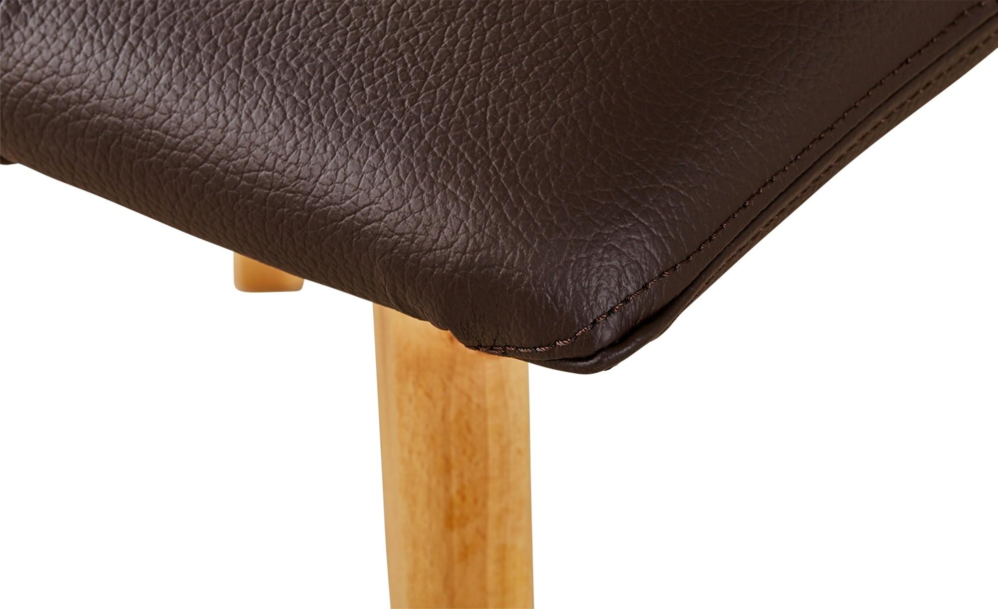 Stolička do jedálne čokoládová