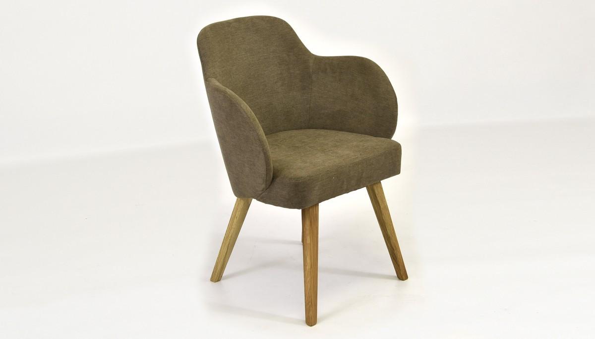 Hnedá stolička do jedálne