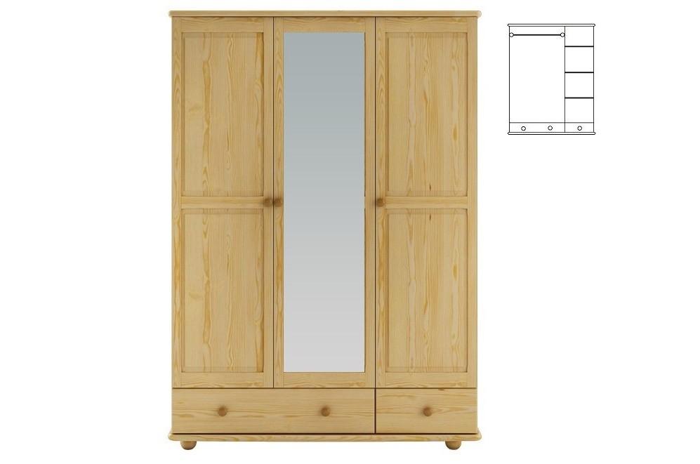 Skriňa so zrkadlom (133) - TYP 65B