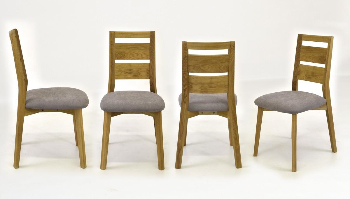 Pevná dubová stolička do jedálne