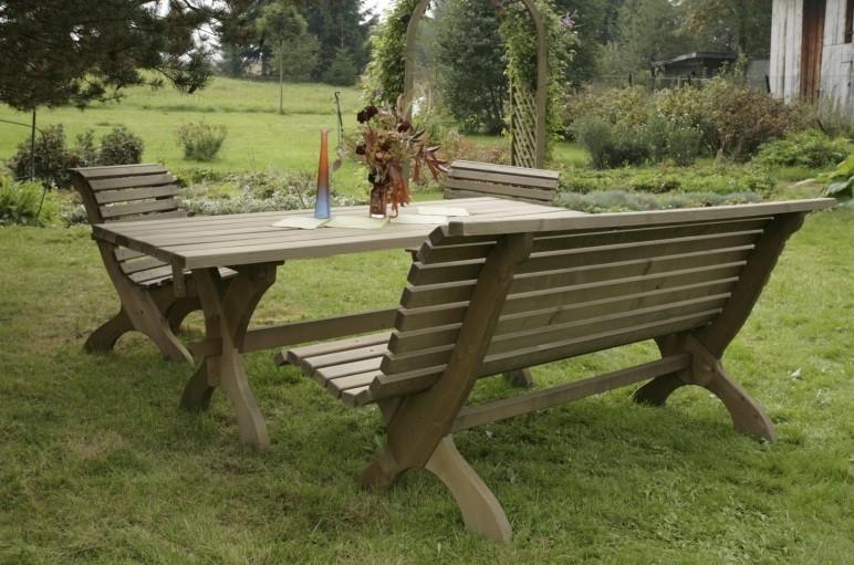 Stôl do záhrady
