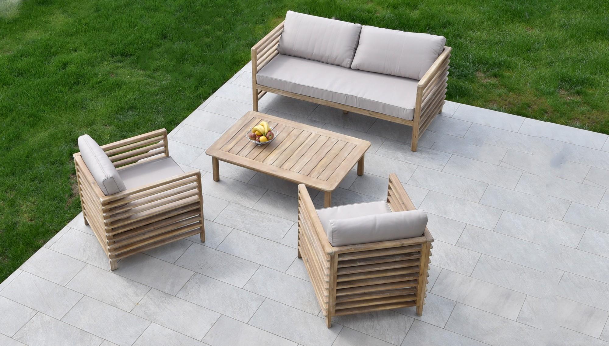 MODERNÉ Záhradné sedenie NITRA