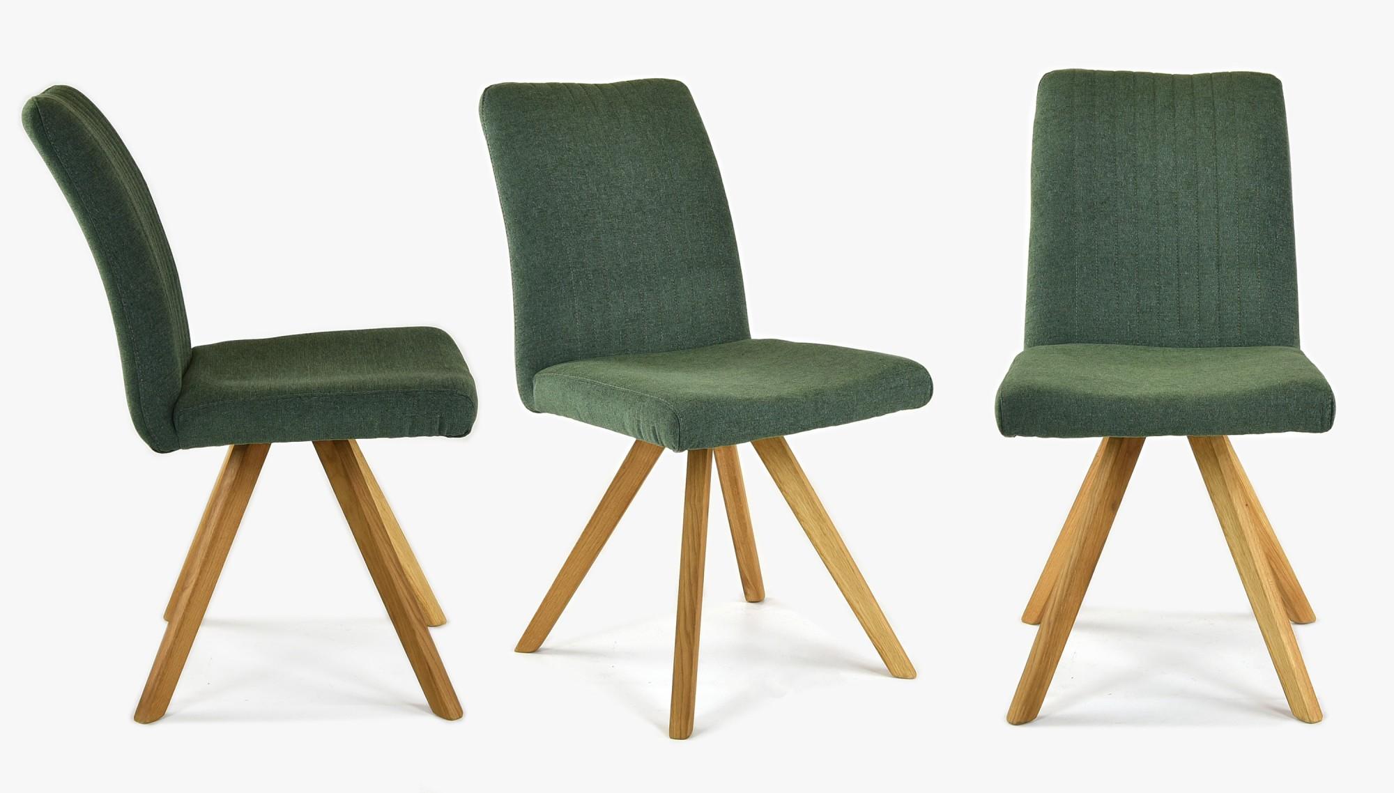 zelená stolička do jedálne