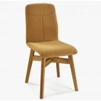 Moderná jedálenská stolička ( York ) horčicová farba