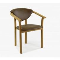 Jedálenská stolička Alexandra (Amelia brown)