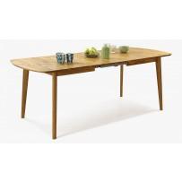 Moderný dubový stôl Rozkladací