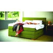 Boxspring manželská postel CARLTON 180 x 200
