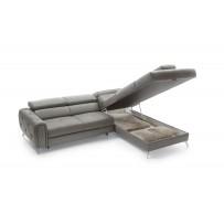 Rohova sedacia súprava s možnosťou rozloženia na posteľ (Camelia) výber látka, alebo koža