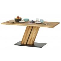 Jedálenský stôl masív dub  (s jednou nohou v strede CALGARY 180 x 90)