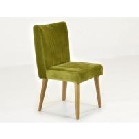 Stolička do jedálne , zelená látka