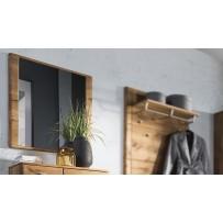 zrkadlo s dubovým rámom