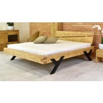 Drevená manželská posteľ - top dizajn