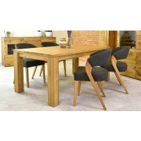 Moderný jedálenský stôl a stoličky (škandinávsky dizajn)