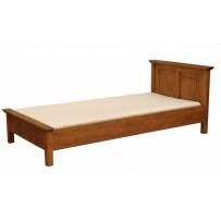 Drevená posteľ voskovaná 120 x 200