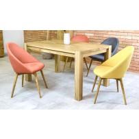 Moderný jedálenský set akcia (Stôl košice + Stolička lotos)