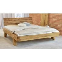 Manželská dubová posteľ 180 x 200, 200 x 200 mia