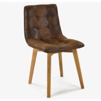 Pohodlná jedálenská stolička, leonardo LB