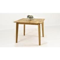 Dubový stôl Leon (95 x 95) - štvorcový