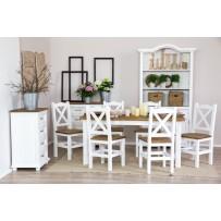 Jedálenský stôl a stoličky ( francúzsky štýl bývania ) 140,160,200