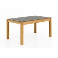 Jedálenský rozkladací stôl FANO, doska DEKTON šedá