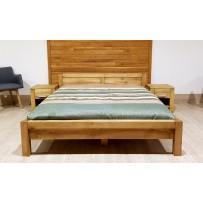 Manželská postel z masivu L 5 Antic - olej