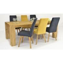 Jedálenská súprava pre 6 až 8 osôb (Stôl 220 x 100 + Stolička TINA)