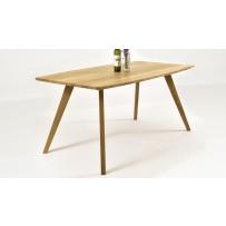 Masívny dubový stôl - oválny GOLEM 140,160,180