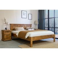 Drevená manželská posteľ 180 x 200