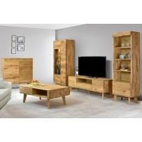 Retro dubový nábytok do obývačky