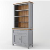 Drevená knižniča , provensalský nábytok