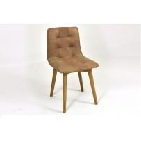 kožená stolička do jedálne