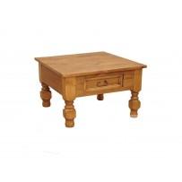 Konferenčný stolík z dreva farba - vosk štandard - nohy točené