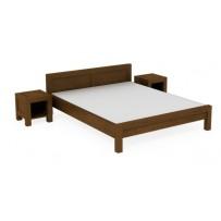 Manželská posteľ 140 x 200 možnosť výberu farby, model L 5
