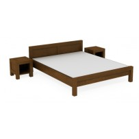 """Manželské postele na mieru """"model L 5 """"  200 x 200"""