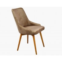Elegantná čalúnená stolička Laura