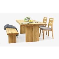 Masívne dubové sedenie do jedálne