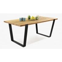 Moderný stôl do jedálne masív (medveď 180x96 cm)