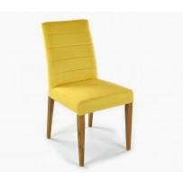 Stolička do jedálne žltá