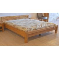 Manželská posteľ z dreva 160 x 200, Model L 5 , farba dub
