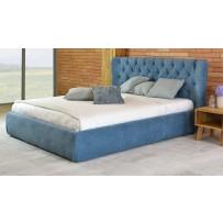 Manželská čalúnená posteľ (glam 160 x 200, 180 x 200)