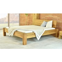 Dubová posteľ 160 x 200, 180 x 200 dunaj