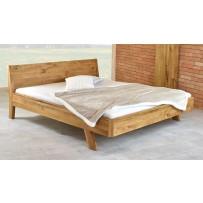 Dubová manželská posteľ  MARINA (vintage štýl 160 x 200 a 180 x 200)