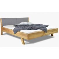 Manželská posteľ z dubu MARINA
