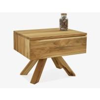 Nočný stolík z dubového Laura