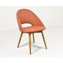Moderná jedálenská stolička v retro štýle  (LOTOS) jarná farba