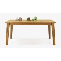 Dubový stôl MIREK ( 160 x 90 cm) AKCIA