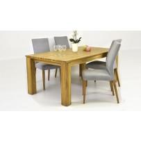 Jedálenský stôl z dubu (pre 4 osoby NL + sofia )