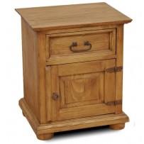 Nočný stolík- farba vosk štandard