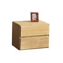 Moderný nočný stolík z dubu