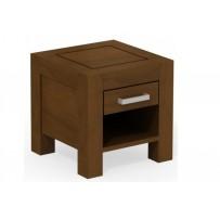 Nočný stolík so šuflíkom